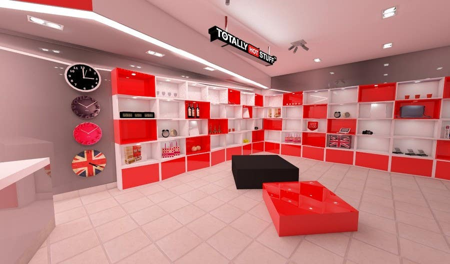 #12 for 3D Interior Design For A Novelty Lifestyle & Gifts Retailer Shop by ilzedesaine1