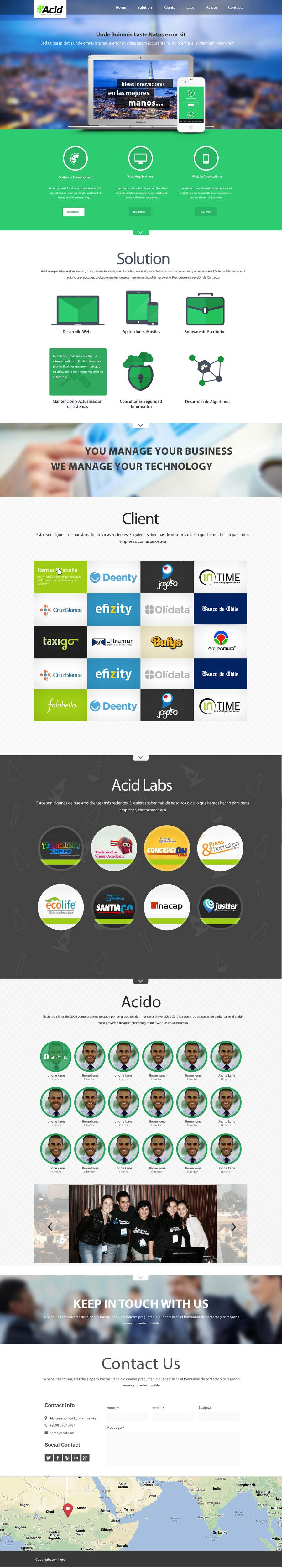 #48 for Develop a Corporate Identity for Acid Labs by SadunKodagoda