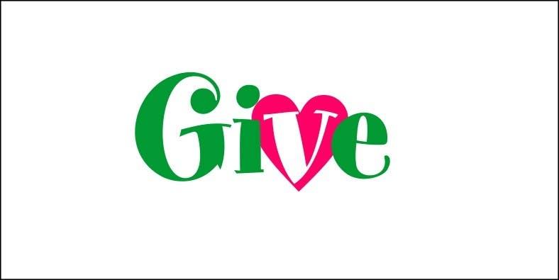 "Kilpailutyö #56 kilpailussa Design a Logo for a charity website called "" give """