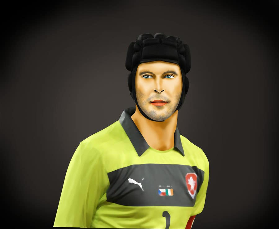 Proposition n°13 du concours Illustrations of 30 famous footballers