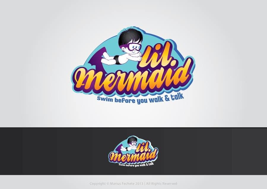 Kilpailutyö #58 kilpailussa Design a Logo for lil mermaid