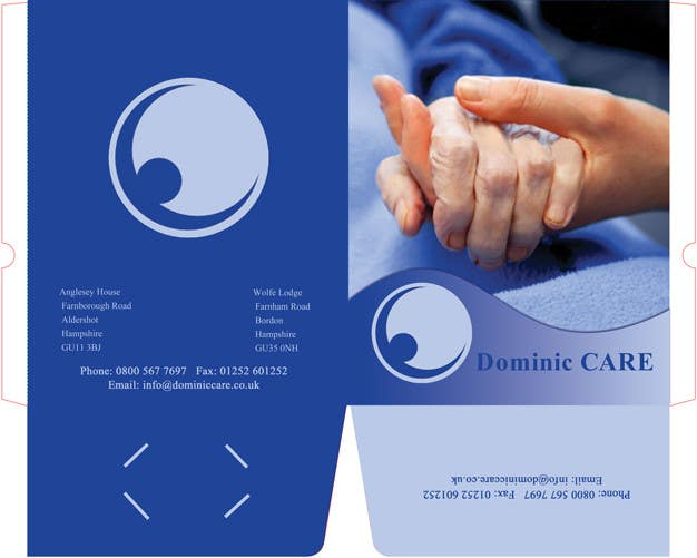 Contest Entry #1 for Stationery Design for Dominic Care Limited