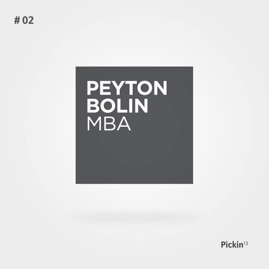 Proposition n°61 du concours PB MBA Logo