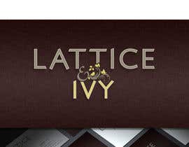 #369 for New Logo Design for lattice & ivy by HallidayBooks