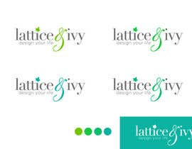 #251 for New Logo Design for lattice & ivy by Designer0713