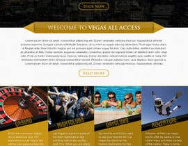 #23 untuk Design a Website Mockup (Homepage) for a Vegas Concierge Site oleh atularora