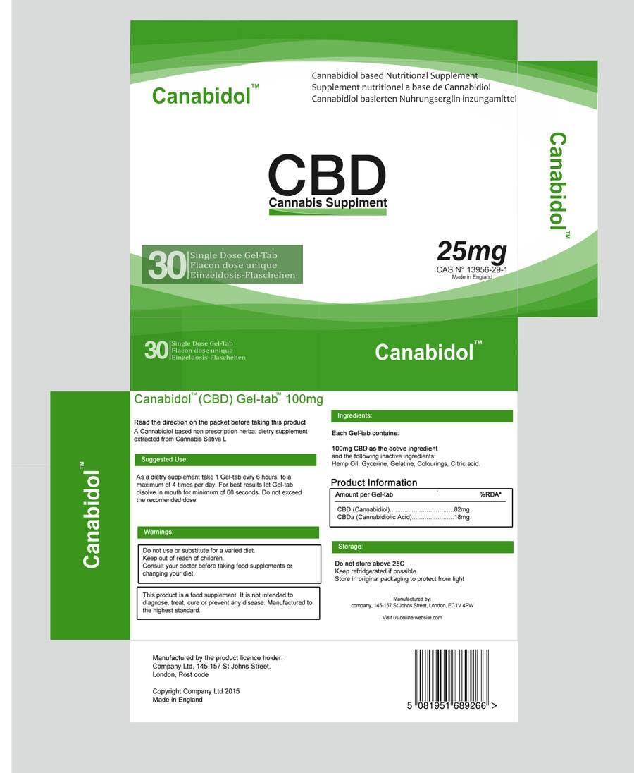 entry 8 by nikomen for create heath supplement medicine box print