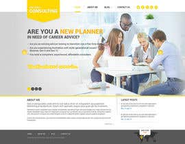 nº 36 pour Design a Wordpress Mockup for a Certified Financial Planner Consulting Firm par geniedesignssl