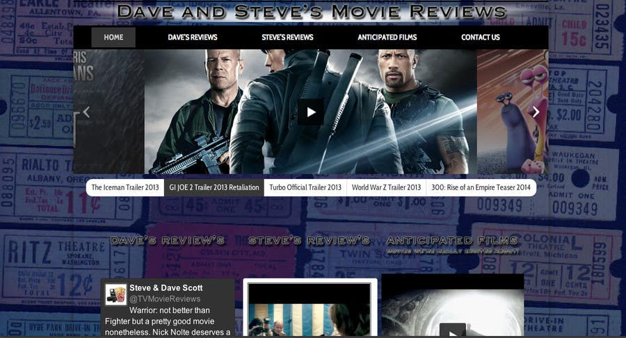 #27 for Build a Wordpress Website for Movie Reviews by echobravo