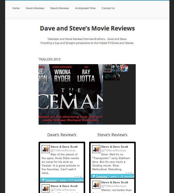 Bài tham dự cuộc thi #                                        40                                      cho                                         Build a Wordpress Website for Movie Reviews