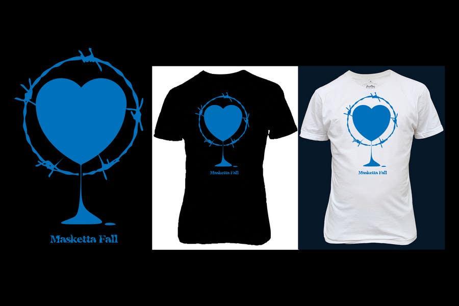 Konkurrenceindlæg #97 for T-shirt Design for Masketta Fall
