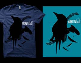 #69 para T-shirt Design for Masketta Fall por bamz23