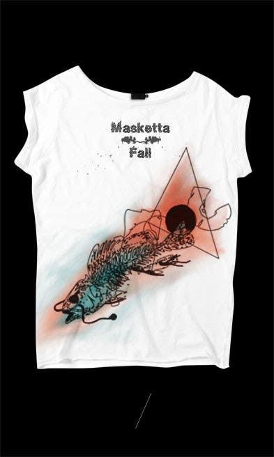 T-shirt Design for Masketta Fall için 57 numaralı Yarışma Girdisi