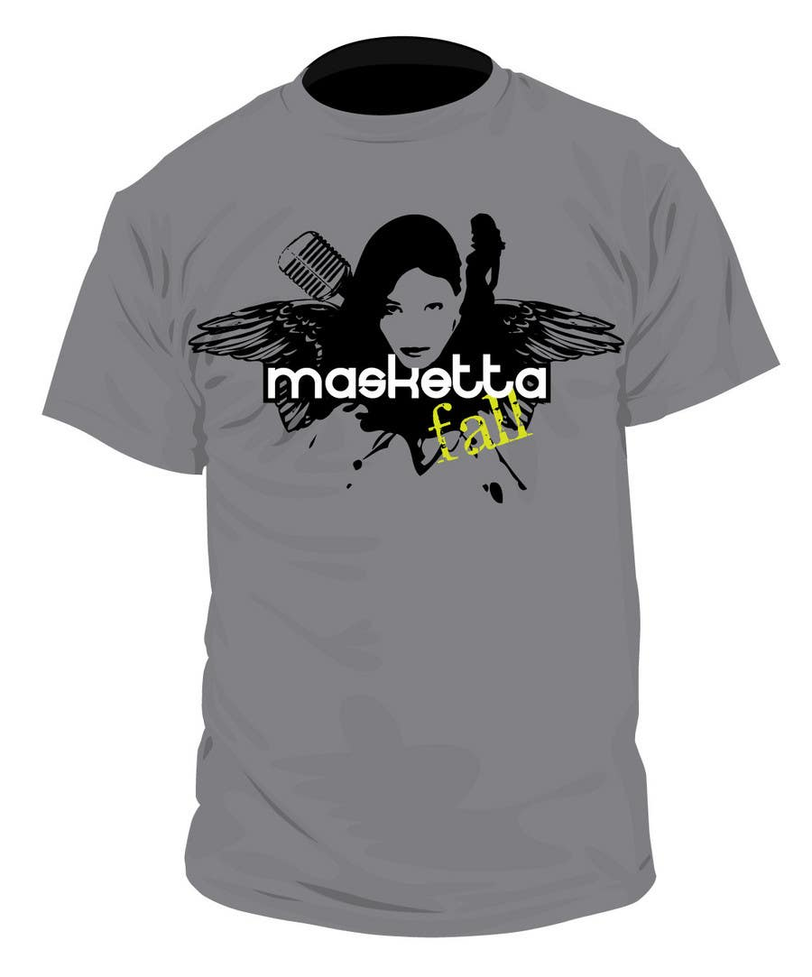 Kilpailutyö #89 kilpailussa T-shirt Design for Masketta Fall