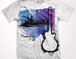 #72 for T-shirt Design for Masketta Fall by Mariodeth