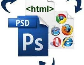 nº 6 pour Psd to html for dreamweaver par ryanahmed