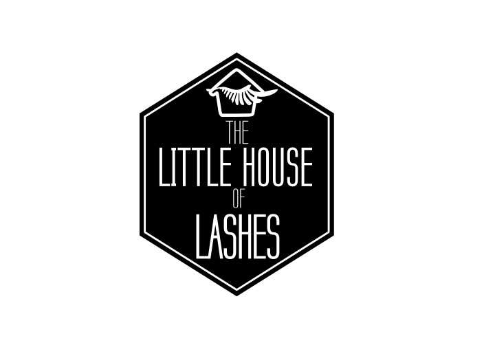 Entry 51 By Pedro1973 For The Little House Of Lashes Logo Challenge