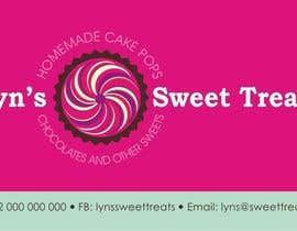 #100 para Business Card & Facebook Banner for Lyn's Sweet Treats por agness1310