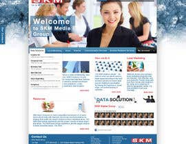 #51 for Website Design for www.skmmediagroup.com by aanuch
