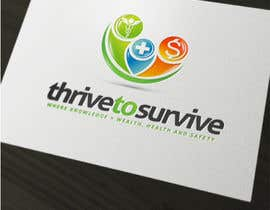 nº 27 pour Design a Logo for Thrive to Survive par sbelogd