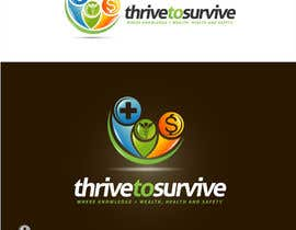 nº 28 pour Design a Logo for Thrive to Survive par sbelogd
