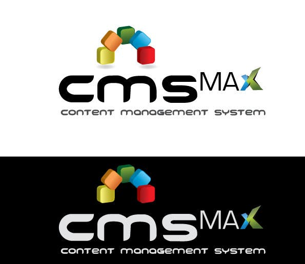 #287 for Design a Logo for CMS Max by risonsm