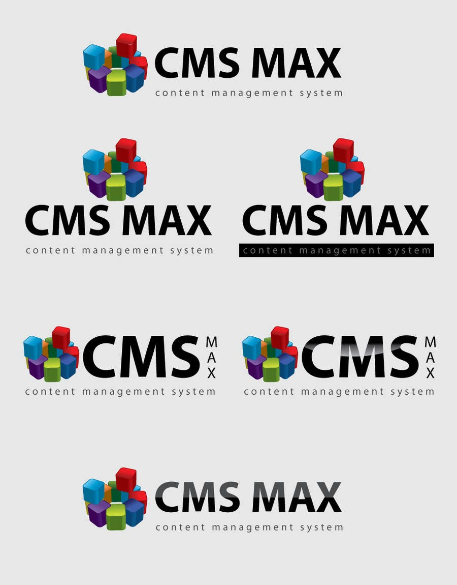 #310 for Design a Logo for CMS Max by risonsm