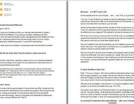 nº 2 pour Write and design a COMPANY'S PROFILE par IWSDirector
