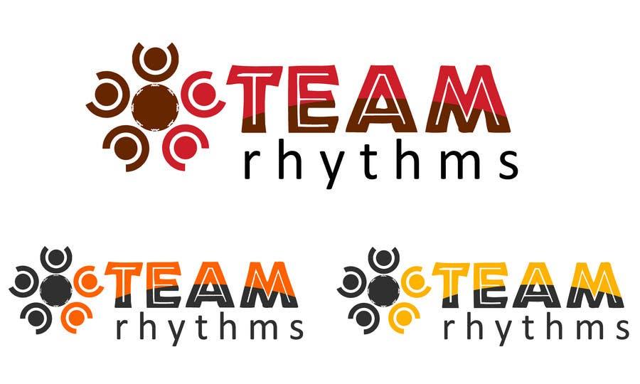 Inscrição nº 188 do Concurso para Logo Design for Team Rhythms
