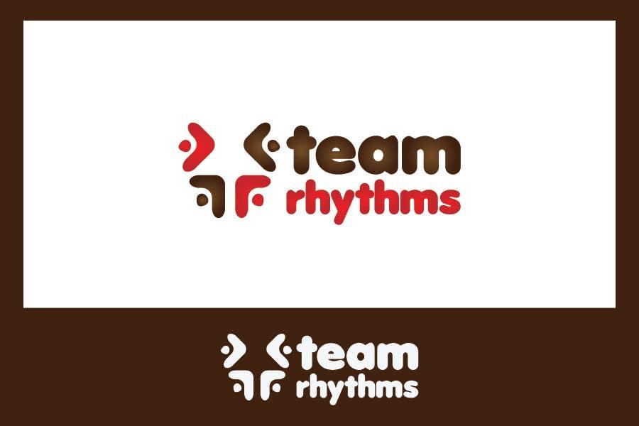 Kilpailutyö #203 kilpailussa Logo Design for Team Rhythms