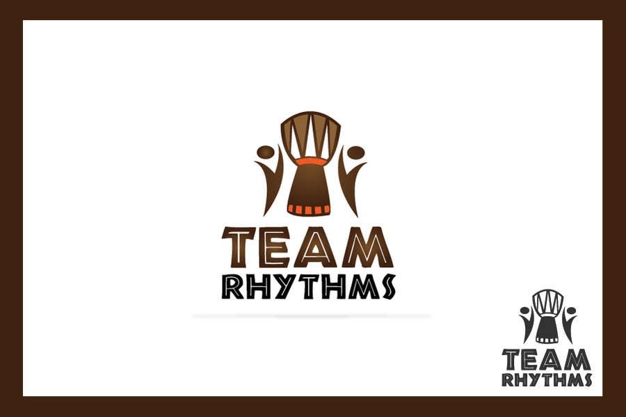 Inscrição nº 206 do Concurso para Logo Design for Team Rhythms