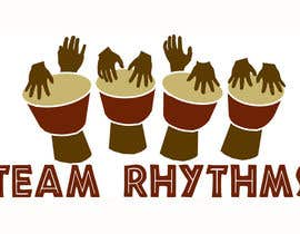#58 para Logo Design for Team Rhythms de TJS91