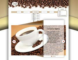 #6 untuk Design a Website Mockup for a Coffee Brand oleh sksv