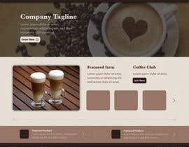 #4 untuk Design a Website Mockup for a Coffee Brand oleh LadoraIT
