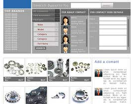 #9 para Design a Website Mockup for megaparts.com por zeontechnologies