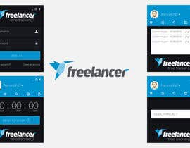 #94 para New Design for the Freelancer.com TimeTracker App por RamonDNC