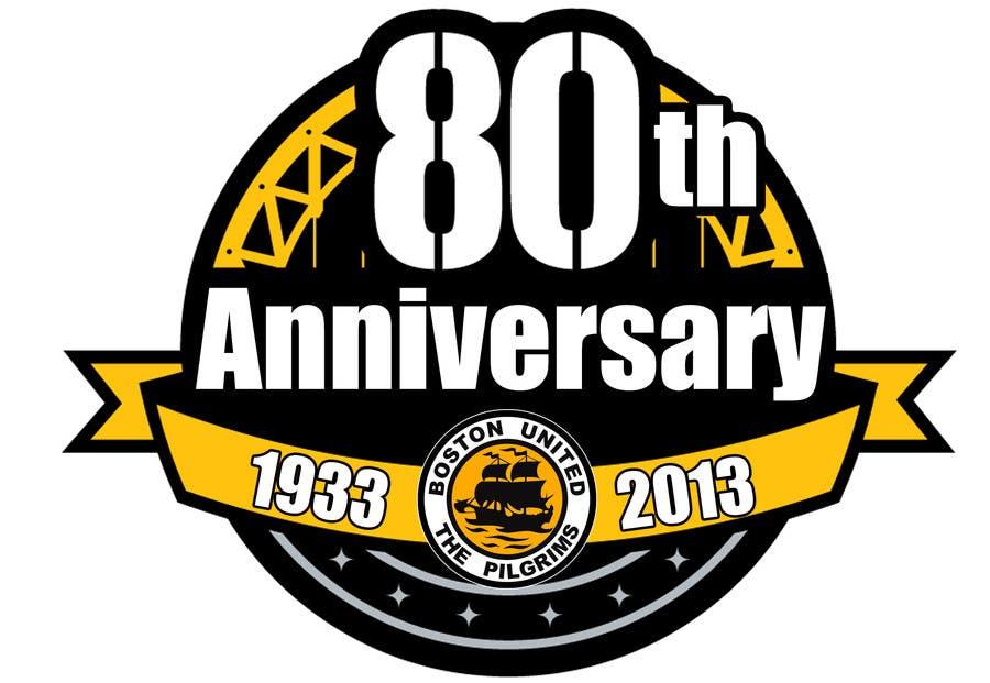 Bài tham dự cuộc thi #                                        21                                      cho                                         Design a Logo for Boston United Football Club's 80th Anniversary