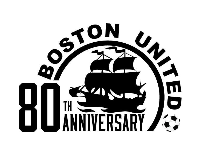 Bài tham dự cuộc thi #                                        54                                      cho                                         Design a Logo for Boston United Football Club's 80th Anniversary