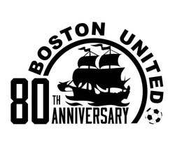 nº 54 pour Design a Logo for Boston United Football Club's 80th Anniversary par esekeloide