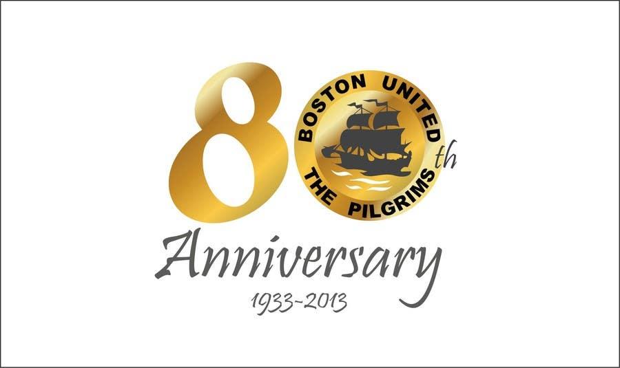 Bài tham dự cuộc thi #                                        55                                      cho                                         Design a Logo for Boston United Football Club's 80th Anniversary