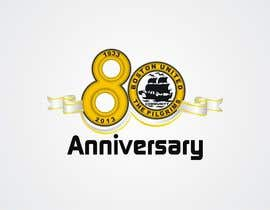 A1Designz tarafından Design a Logo for Boston United Football Club's 80th Anniversary için no 31