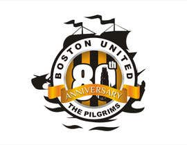 ariekenola tarafından Design a Logo for Boston United Football Club's 80th Anniversary için no 42