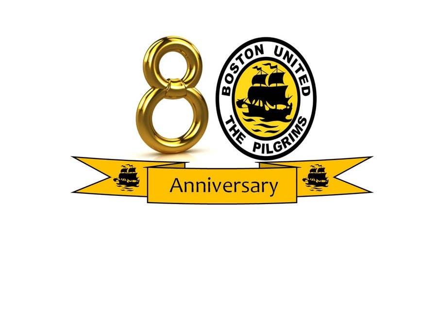 Bài tham dự cuộc thi #                                        46                                      cho                                         Design a Logo for Boston United Football Club's 80th Anniversary