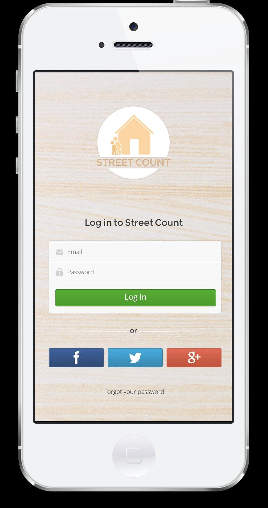 Bài tham dự cuộc thi #                                        4                                      cho                                         Design an App Mockup for Homeless Tracking Mobile App