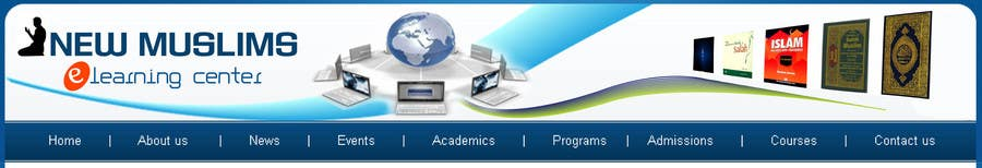 Contest Entry #                                        49                                      for                                         Header design for our new eLearning site