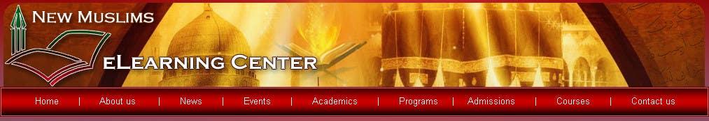 Inscrição nº 12 do Concurso para Header design for our new eLearning site