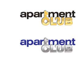 nº 46 pour Design a Logo for Apartment Club par nicoscr