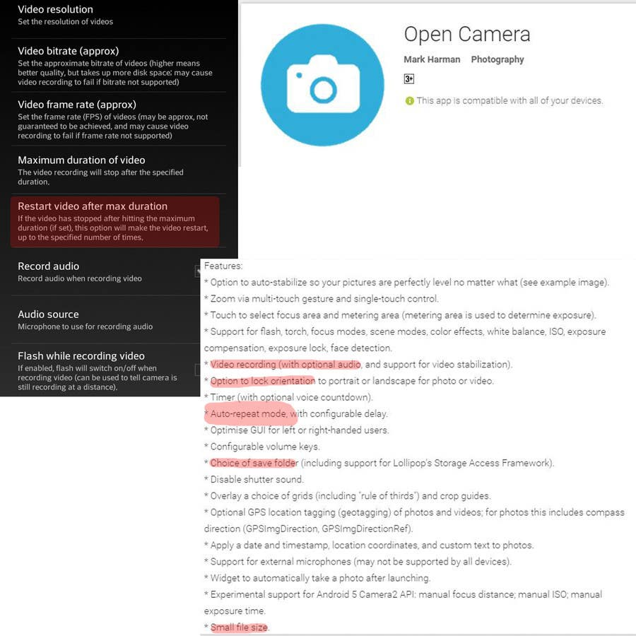 Entry #3 by RaveenSachi22 for Find me an andriod camera recorder apk