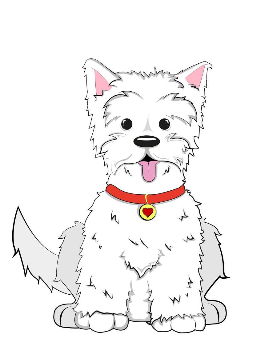 Inscrição nº 9 do Concurso para crreate a cartoon illustration of my dog for a childrens book