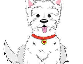 #9 para crreate a cartoon illustration of my dog for a childrens book por brandonLee24
